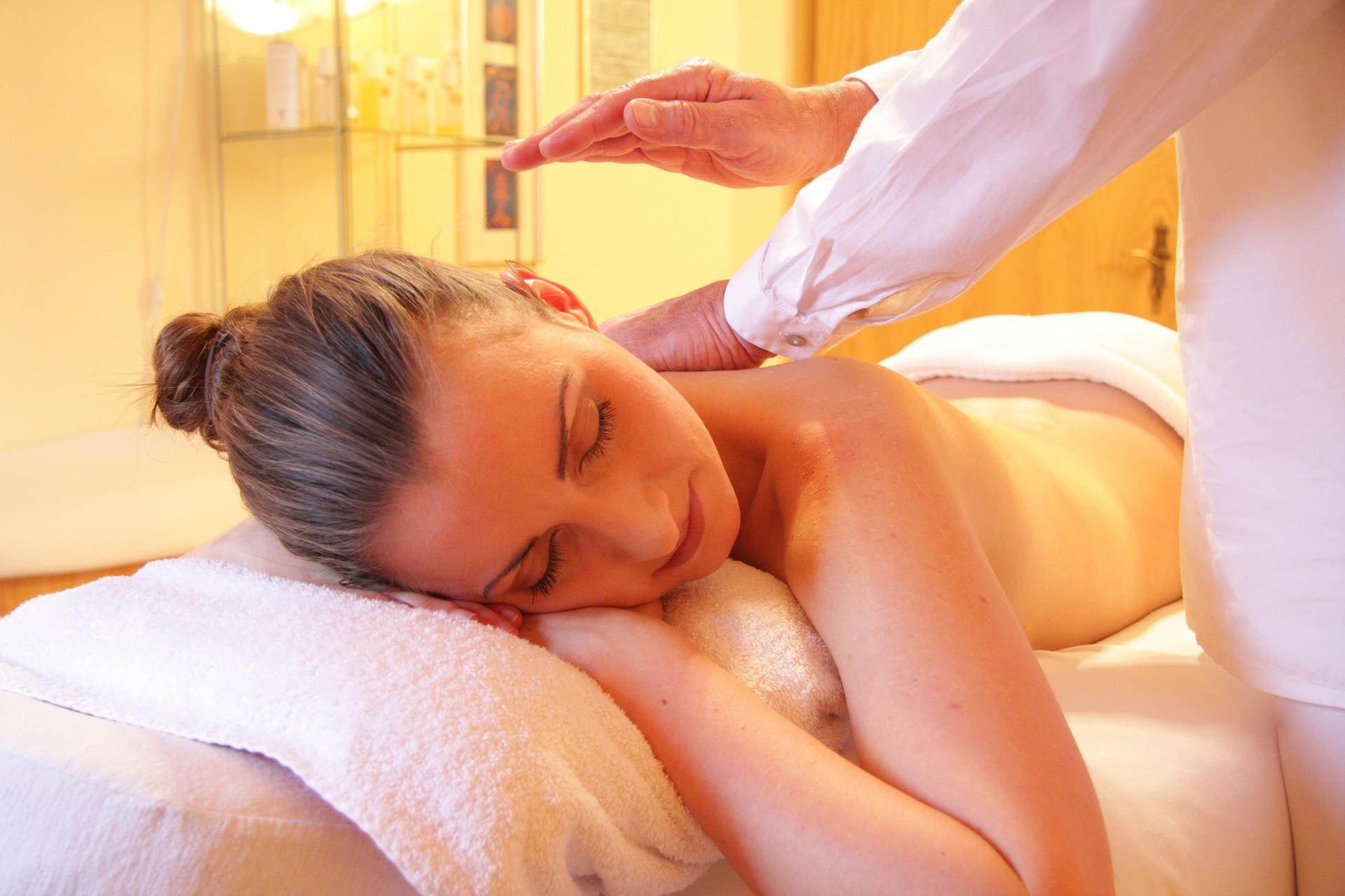 Wellnessbereich Massage