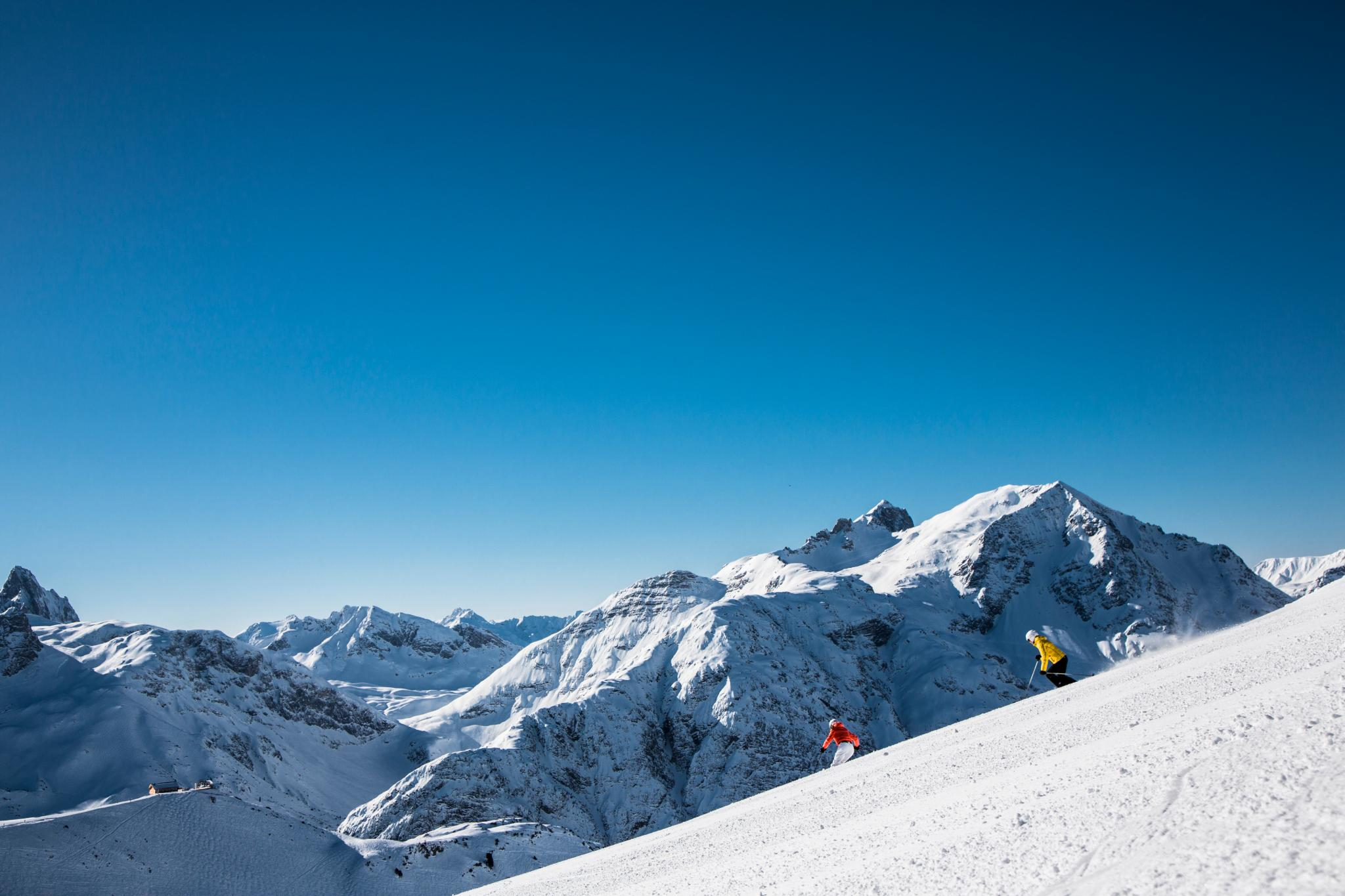 Skifahren mit unserem Skiguide
