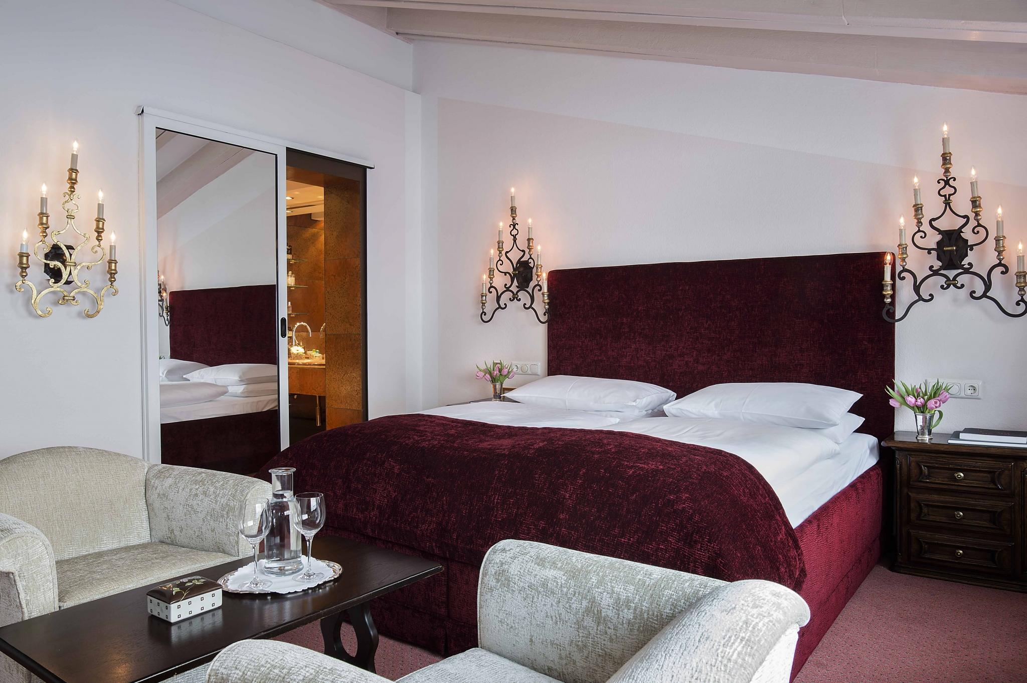 ... Suite Mit Kamin Schlafzimmer ...
