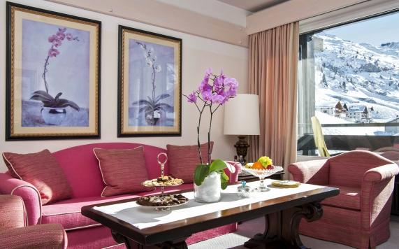Deluxe Suite Wohnbereich