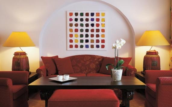 Wohnzimmer Suite mit Whirlpool