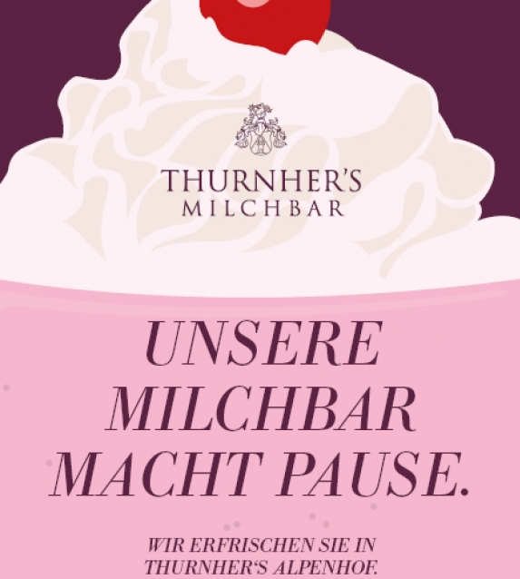 Milchbar-Pause