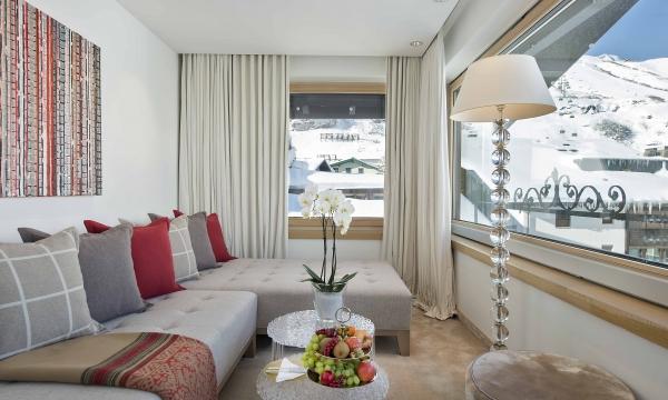 Suite mit 2 Schlafzimmer - Wohnraum